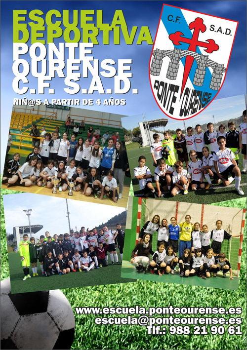Escuela deportiva Ponte Ourense